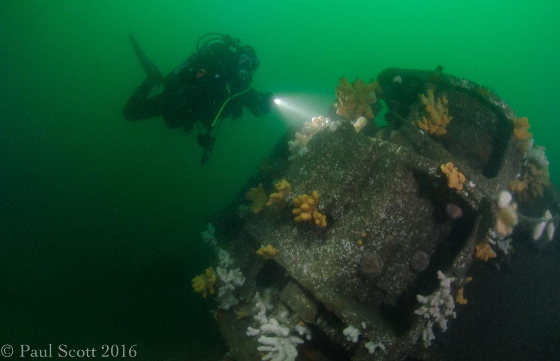 Engine of the Arizona Wreck