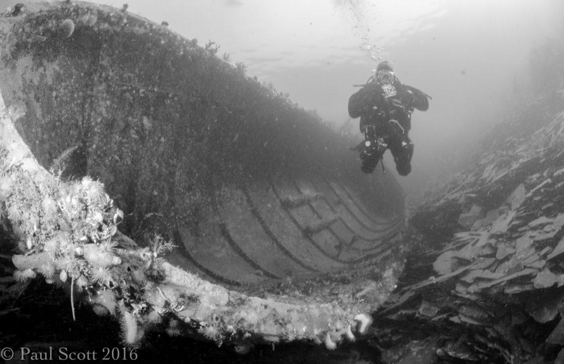 Unknown wreck Ballihulish